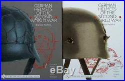 2 LIVRE CASQUE ALLEMAND seconde guerre mondiale ww2 german helmets, 2eme