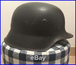 All 100% Original Ww2 german M42 Heer Helmet With Decal hkp66
