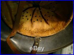 Attic find WW2 German Luftwaffe M35 helmet 1942 Q66