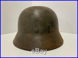 Authentic WW2 German Heer Army M35 helmet