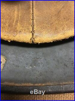 Authentic WW2 German Helmet Q66
