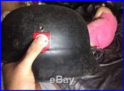 Beautiful WW 2 German M-35/40 Helmet ET 68 and Numbered 1058- for Troops