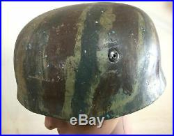 Casque Allemand WW2 Parachutiste M38 Fallschirmjäger German Paratrooper Helmet