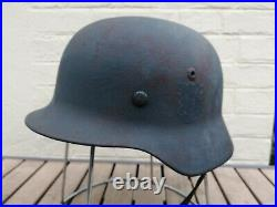 Casque Allemand Ww2 Heer DD (german Helmet Wwii Double Decal)