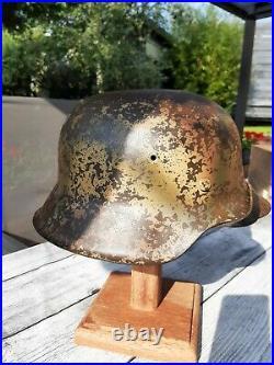 Casque Allemand ww2 stahlhelm helmet us wo2 wh luft xx m42 helm camou german 44