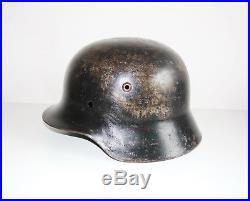Czech civil reissue German army original WW2 M35 helmet shell size ET60 inv#634