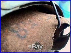 Doublure coiffe d'un casque allemande de WW2 ++ M42 ++ German Helmet Liner WWII