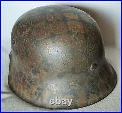 Elmetto Elmo tedesco german helmet casque allemand stahlhelm ww2 wk2 M42