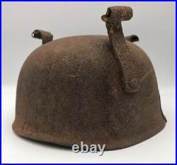 Elmetto Paracadutista Tedesco Ww2 Iiww Fallschirmjager German Helmet Barn Found