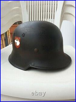 Elmetto Tedesco M34 Polizia german helmet helm casque allemande ww2
