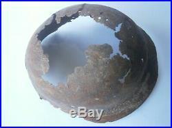 GERMANY Helmet WW2 Skull Bones WWII Stahlhelm SPECIAL Force SHOCK Troops GERMAN