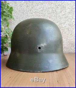 GERMAN HELMET M35 very rare size SE 60 ORIGINAL WW2