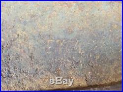 GERMAN HELMET M40 SIZE ET64 ORIGINAL WW2 STAHLHELM. Condition is Used