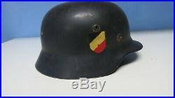 GERMAN IMPERIAL WW2 HELMET old MODEL GERMANY WW2 ORIGINAL M-35
