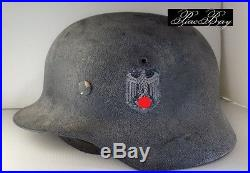 German M40 Et66 Wehrmacht Single Decal Ww2 Heer Camouflage Helmet
