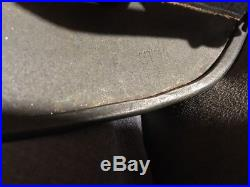 GERMAN WW2 M40 HELMET ET64 Replaced Chinstrap. Double Dutch Wolfsangle Decals