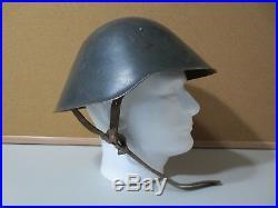 Genuine Post WWII WW2 EAST GERMAN HELMET Cold War Liner Occupied by USSR (P2833)