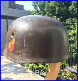 German Fallschirmjager Helmet Shell M38, Dd, Wwii, Ww2, Paratrooper