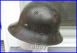 German Helmet Czechoslovakia Luftwschutz Vz. 29 Ww2
