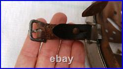 German Helmet Liner + Chinstrap Size 68 Head Size 60 61 Ww2 Stahlhelm Early 1938