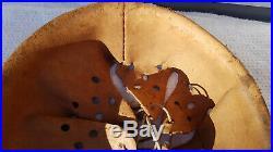 German Helmet Liner + Rest Of Chinstrap Ww2 Stahlhelm 64/57