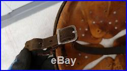 German Helmet Liner With Chinstrap Size 56 57 / Shell 64 Ww2 Stahlhelm
