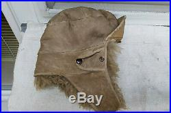 German Helmet Luftwaffe Winter Mütze Cap 1943 Ww2 Size 58