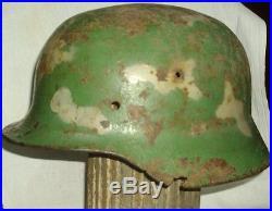 German Helmet M35 Russian Front Camo Ww2 Stahlhelm Wh Lw Elite Cernigov Dniepr