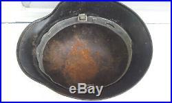 German Helmet M35 Size 64 Ww2 Stahlhelm