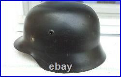 German Helmet M35 Size E. T. 66 Ww2 Stahlhelm