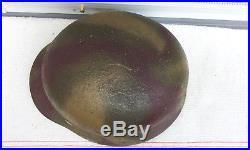 German Helmet M35 Size Et64 Camo Ww2 Stahlhelm