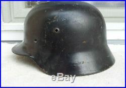 German Helmet M35 Size Et64 Ww2 Stahlhelm