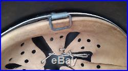 German Helmet M35 Size Se60 Luftwaffe Hj Stahlhelm Ww2