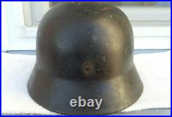 German Helmet M35 Size Se64 Ww2 Stahlhelm