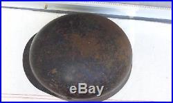 German Helmet M35 Size Se66 Ww2 Stahlhelm