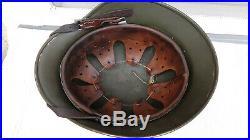 German Helmet M40 Size Ef64 Ww2 Stahlhelm