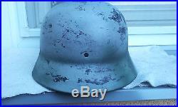 German Helmet M40 Size Et68 Ww2 Stahlhelm Wehrmacht Luftwaffe