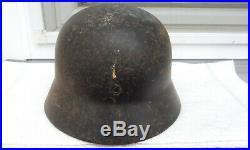 German Helmet M40 Size Se62 Ww2 Stahlhelm