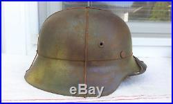 German Helmet M42 Size64 Camo Helmet Ww2