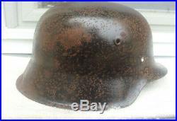 German Helmet M42 Size 66 Ww2 Stahlhelm