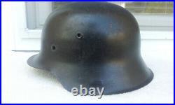 German Helmet M42 Size Ns64 Ww2 Stahlhelm