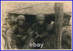 German Helmet WW2 Barbed Wire Eastern Front