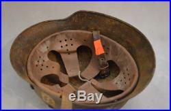 German Helmet Ww2 Very Old 2wars