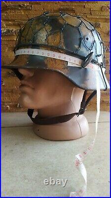 German Helmet Wwii Ww2 M40