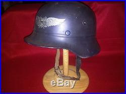 German Luftschutz Beaded Helmet WW2