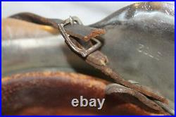 German M42 Helmet Chrome withLiner + Chinstrap WWII Bring Back WW2 World War Two