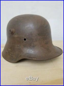 German Transitional HELMET ET64 STAHLHELM (Steel) Authentic/Original WW1/WW2