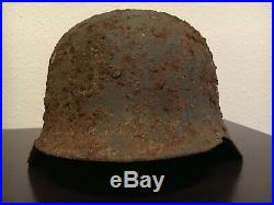 German WW2 Helmet M42 Decal Army Has Liner