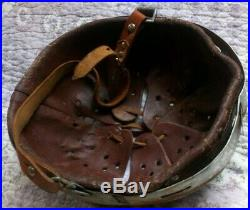 German WW2 Helmet, Norwegian Factory Defence, Industrivern, ET6