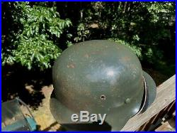 German WW2 M42 Helmet (Refurbished Original CKL 66 Shell)